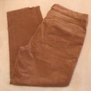 Talbots Corduroy Ankle Pants